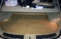 Бежевый коврик в багажник Infiniti Fx35 высокий борт