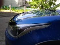 Дефлектор на капот для Kia Rio 4 СИМ