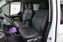 Чехлы для Ford Transit Custom серии Leather Style