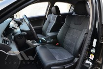 Чехлы для Honda Accord 8 серии Leather Style