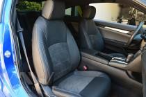 Чехлы салона Honda Civic 10 серии Leather Style