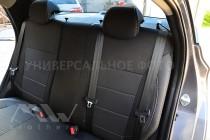 Авточехлы в салон Хонда Цивик 8 седан серии Premium Style