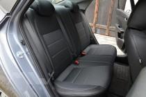 Авточехлы в Хендай Акцент 5 серии Premium Style