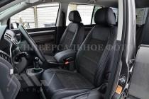 Чехлы для Hyundai Accent с 2017 года серии Leather Style