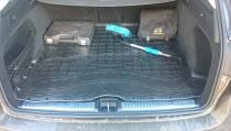 Коврик в багажник Mercedes GLC X253 резина