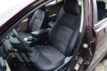 Чехлы для Kia Optima 3 с 2010- года серии Leather Style