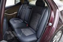 Чехлы для Kia Optima 3 с 2010- года серии Leather Style