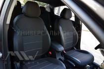 Авточехлы на Киа Рио 4 хэтчбек серии Premium Style