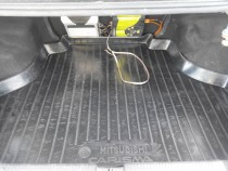 Коврик в багажник Mitsubishi Carisma седан