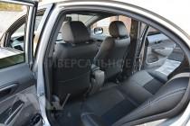 Чехлы в авто Mitsubishi Pajero Wagon 2 оригинальный комплект сер