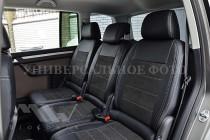 Чехлы Mitsubishi Pajero Sport 3 с 2015- года серии Leather Style
