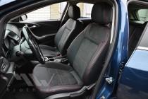 Чехлы для Opel Astra J с 2009- года серии Leather Style