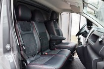 Чехлы для Opel Vivaro 2 с 2014- года серии Leather Style