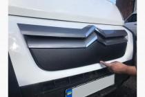 Заглушка решетки радиатора Ситроен Джампер 2 матовая