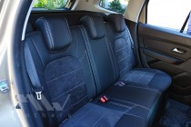 Чехлы для Renault Duster 2 с 2018- года серии Leather Style