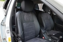 Чехлы для Renault Megane 3 Grandtour серии Leather Style