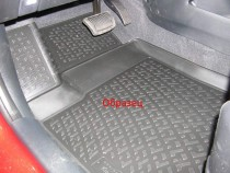 Резиновые коврики Nissan Navara D23 после 2014 года