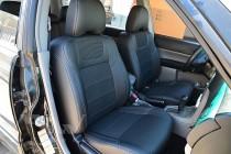 Чехлы в Subaru Forester 2 оригинальный комплект серии Dynamic