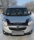 Дефлектор капота Opel Combo D черный