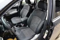 Чехлы для Subaru Forester 4 с 2013- года серии Leather Style