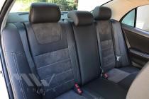 Чехлы в Toyota Corolla E120 серии Leather Style