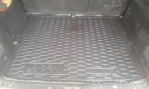 Коврик в багажник Opel Zafira A резина