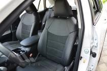 Чехлы для Toyota Rav4 5 с 2018- года серии Leather Style