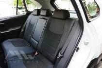 Чехлы салона Toyota Rav4 5 с 2018- года серии Leather Style