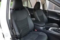 Чехлы в Toyota Rav4 5 с 2018- года серии Leather Style