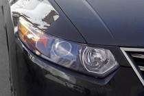 Реснички на фары Хонда Аккорд 8 (накладки фар Accord 8 дорестайл)