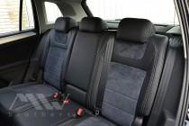 Чехлы в Volkswagen Tiguan 2 с 2015- года серии Leather Style