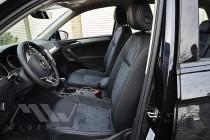 Чехлы на Volkswagen Tiguan 2 с 2015- года серии Leather Style