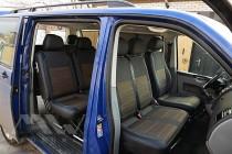 Авточехлы Volkswagen Transporter T6 пассажир серии Premium Style
