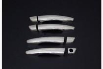Хром накладки на ручки Peugeot 508 1 поколения