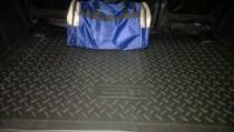 Коврик в багажник Peugeot Partner 2 резиновый