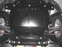 Защита двигателя Форд Фиеста 5 (защита картера Ford Fiesta 5)