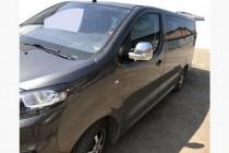 Хром накладки на зеркала Peugeot Traveller пластик