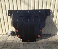 Защита двигателя Форд Фокус 2 радиатора и КПП