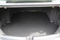 Резиновый коврик багажника Рено Меган 4 седан