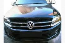Хром накладки на решетку узкие Volkswagen Amarok