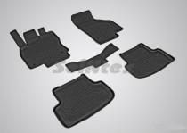 Резиновые коврики салона Skoda Octavia A8