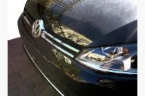 Хром накладки на решетку  Volkswagen Golf 7