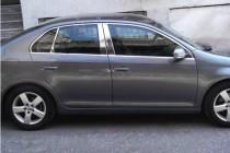 Хром верхняя окантовка стекол Volkswagen Jetta 5