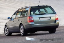 Хром накладка на задний бампер Volkswagen Passat B5
