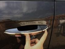 Хром накладки на ручки Volkswagen Passat B6 узкие