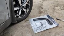 Передние брызговики Kia Sportage 4 комплект из 2шт