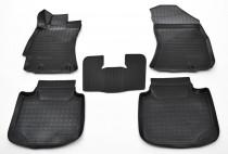 Резиновые коврики для Subaru Legacy 6 комплект 5шт