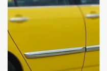 Хром молдинг на двери Toyota Corolla E120