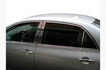 Omsa Line Хром накладки на дверные стойки Toyota Corolla 10 E150