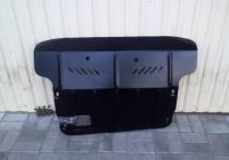 Защита двигателя Хендай Туксон 1 увеличенная (защита картера Hyundai Tucson 1 увелич.)